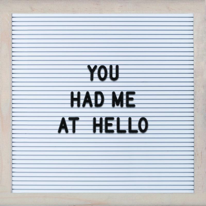 Letterboard Popsigns Custom Letterboard Signs